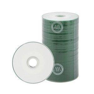 400 Prodisc Spin-X 32x MINI CD-R Blank Media 22Min 193MB White Inkjet Hub with Free Vinyl Sleeves