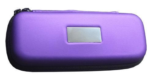 Visnow(™) Electronic Cigarette Travel Carry Case Bag E-cig Pouch Zip Kit for Ego Cigar (Purple)