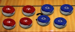Replacement American Large Table Shuffleboard Caps-- Set of 8-- Caps Only