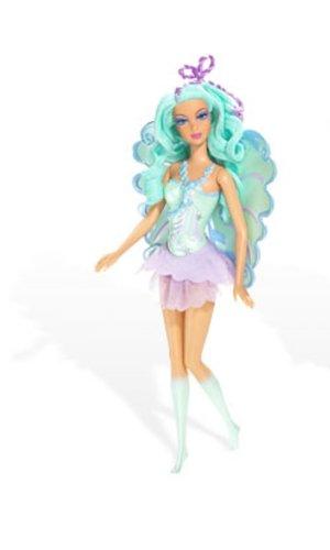 Barbie Meerjungfrauen Feen Haare Blau Amazonde Spielzeug
