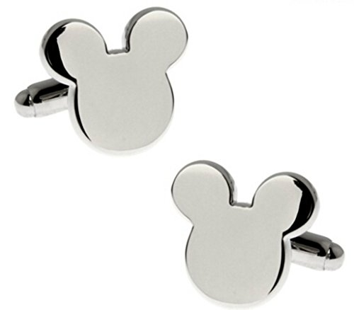 Disney Mickey Mouse Groomsman Wedding Cufflinks with Gift Box From Outlander
