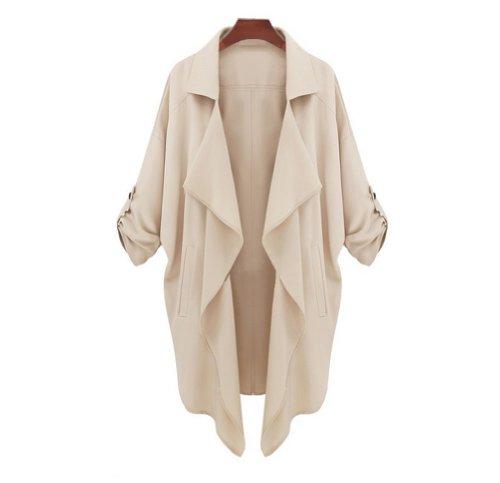 UPC 520232646017, Promithi Fashion Womens Spring Autunm Trench Coat Jacket (EUR M(US XS), khaki)