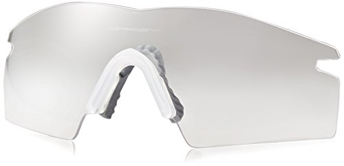 Oakley M Frame Replacement Lens Shield,Clear,one ()