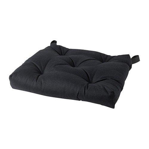 Ikea Malinda Silla Cojín en Negro; (40/35 x 38 x 7 cm ...