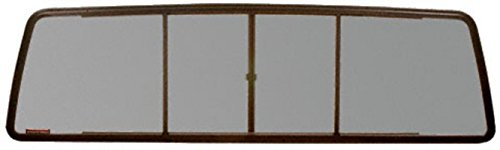 CRL Duo-Vent Four Panel Slider with Solar Glass for 1973-1996 Ford F-Series and 1997-1998 Ford F-250/F-350 Heavy Duty Cabs