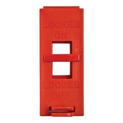 Brady® Red Polypropylene Wall Switch Lockout