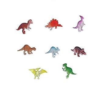 Toys & Hobbies Nice Petit Sachet De Figurines Dinosaures En Plastique 8 Pièces Animals & Dinosaurs
