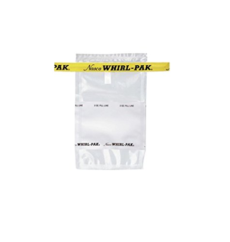 Nasco Whirl-Pak B01064WA Write-On Bag, 12.5 cm