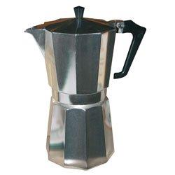 Pezzetti Stove-Top Moka Espresso Italian-Made Coffee Maker Moka Pot- 1,2,3,6,9,14 Cup (14 Cup) by Pezzetti