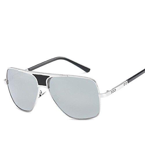 Grande de de Sol de Sol Sol de Gafas de Regalos Mans en Hombres Unidos los Sol de Estados Gafas los Metal Europa General de Gafas Gafas creativos B Chao Marco Axiba Plano y gzOBf