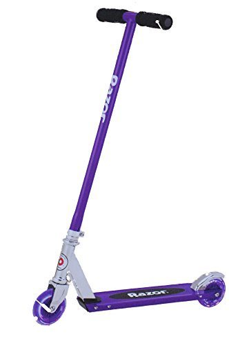 Razor S Light-Up Wheels Kick Scooter (Blue, Green or Purple) (Purple)