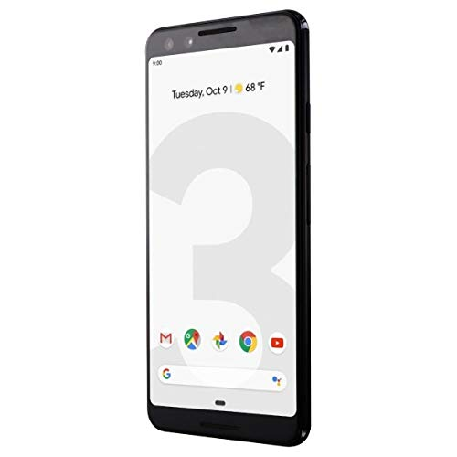 Google Pixel 3 64GB - Just Black (Renewed)