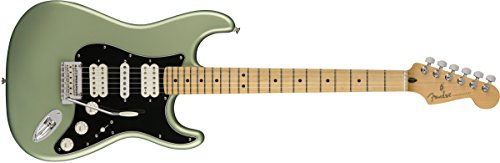 Fender Player Stratocaster HSH Electric Guitar - Maple Fingerboard - Sage Green Metallic (Fender Modern Player Hsh Stratocaster Electric Guitar)