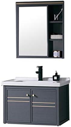 BSA Mueble de baño combinación Lavabo Lavabo Espejo Lavabo suspendido