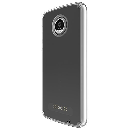 Speck Products Candyshell Cell Phone Case for Moto Z Play, Clear/Clear, 85748-5085