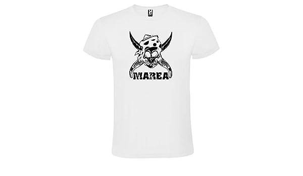 Camiseta Marea Blanca para Hombre 100% ALGODÓN Talla S M L XL XXL XXXL Mangas Cortas (S): Amazon.es: Ropa y accesorios