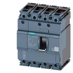 Siemens sentron-3va–Commutateur Frame 10036kA 4pôles tM21032A Vis