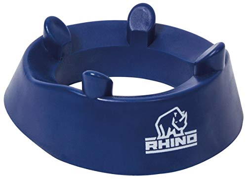 Rhino Rugby Fixed Height Kicking Tee | 4 Prong Hold for Accurate Kicks