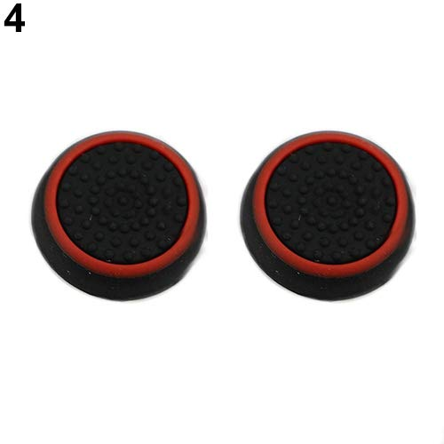 Tzp5ChB Stick Grip Cap Cover for PS4 Xbox, Glow in The Dark Analog Controller Thumb 10Pcs - ()