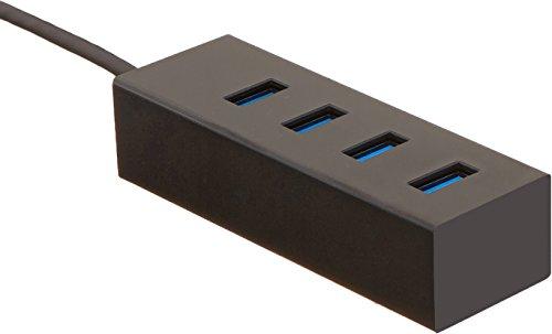 AmazonBasics USB 3.1 Type-C to 4 Port USB Hub - Black