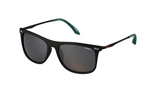 O'NEILL Rectangle Polarized Rectangular Sunglasses, Matte Black, 55 - Oneill Sunglasses