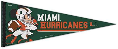 """Miami Hurricanes Premium Pennant 12"""" x 30"""""""