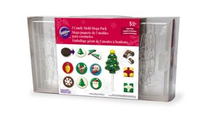 (Wilton 5 Candy Mold Mega Pack)