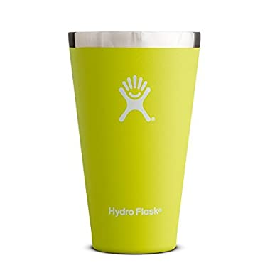 Hydro Flask 16 oz Vacuum Insulated True Pint, Citron
