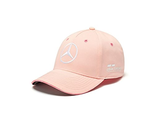 eb2976089a56f Image Unavailable. Image not available for. Color  Mercedes Benz F1 Special  Edition Lewis Hamilton 2018 Monaco Pink Hat