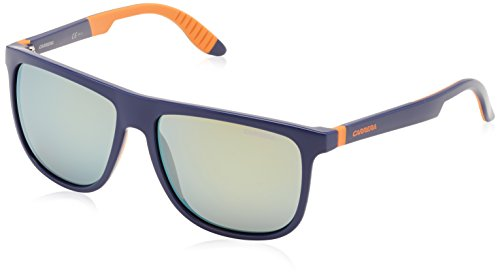 Carrera 5003/SP/S Sunglasses CA5003SPS-028R-QU-5816 - Blue Aranc Frame, Yellow Mirror Lenses, - Sunglasses 5003 Carrera