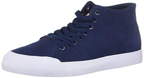 DC Evan Smith HI Zero - Zapatillas de Skate para Hombre, Azul Marino/Chocolate, 12 M US