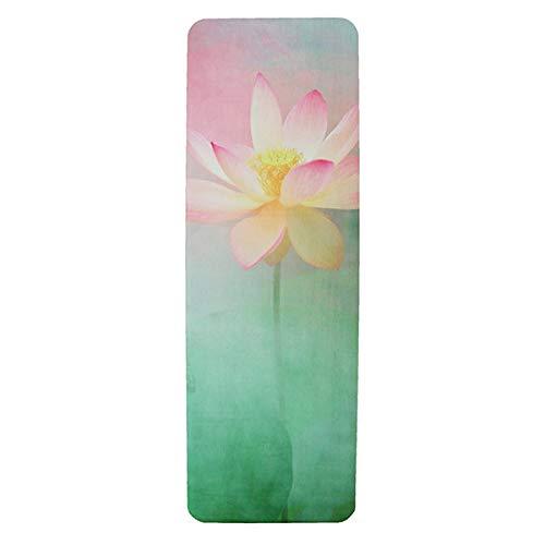 Tapete de yoga Premium - Supreme Lotus, Eco Friendly: Amazon ...