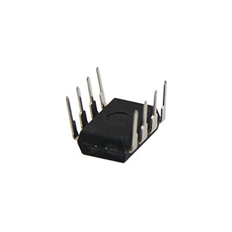 Hrph 10 PC nueva línea UA741 LM741 17741 IC OP AMP compensada DIP-8: Amazon.es: Electrónica
