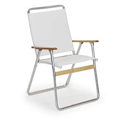 Telaweave Easy In/Out High Back Arm Chair Color: White