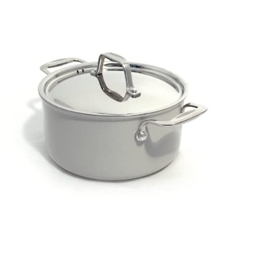 Beka Chef Eco-logic 100-Percent Eco-Hardened-Aluminum Bekadur-Ceramica-Nonstick 8-Inch Covered Casserole