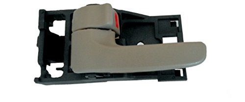 (DELPA CL4357 > Left Inside Interior Gray Door Handle Fits: Toyota Tundra 00-06 (Double Cab only!) - Avalon 00-04 - Sequoia 01-07)