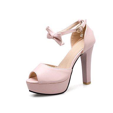 LvYuan Mujer Sandalias Sandalias y chanclas Zapatos formales Semicuero Primavera/Otoño Verano Fiesta Cumpleaños EscenarioSandalias y chanclas Purple