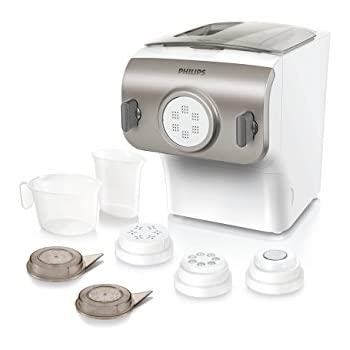Philips Avance Pasta Maker- HR2357/08, Frustration Free Packaging