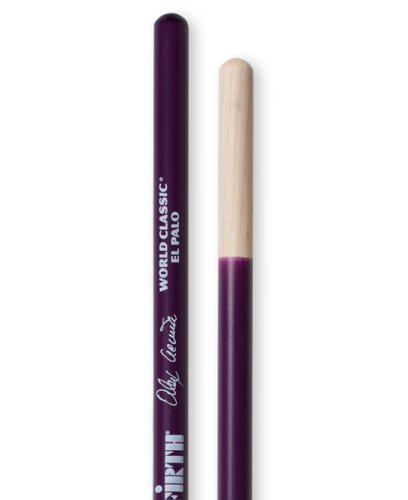 Hickory Timbale Sticks (Vic Firth World Classic - Alex Acuña El Palo (Purple) Timbale)