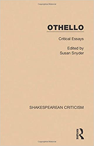 com othello critical essays shakespearean criticism  othello critical essays shakespearean criticism volume 6 1st edition