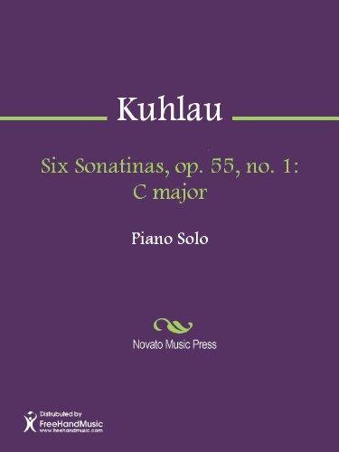 Six Sonatinas, op. 55, no. 1: C major (6 Sonatinas Music Book)