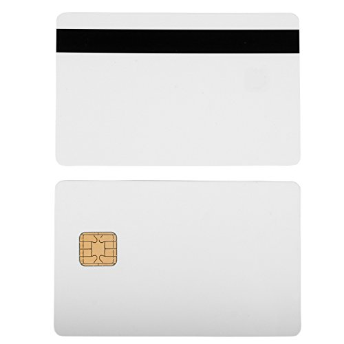 J2A040 Chip JAVA JCOP Cards w/ HiCo 2 Track Mag Stripe JCOP21-36K - 100 Pack by badgeDesigner