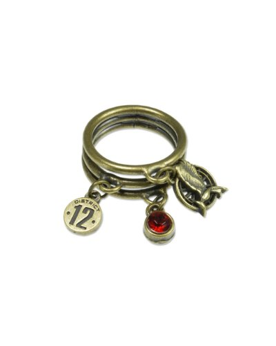 NECA The Hunger Games: Catching Fire Mockingjay Charm Ring ()