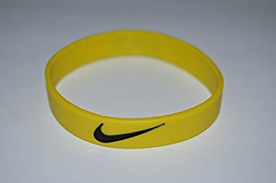 Nike NK2 Baller Band Silicone Rubber Basketball Baseball Football Running Wristband Bracelet