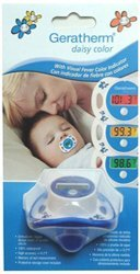Price comparison product image THERMOMETER PACIFIER DAISY CLR by R G MEDICALISES