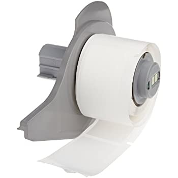 Brady M71-20-459 Permanent Polyester BMP71 Labels , White (100 Labels per Roll, 1 Roll per Package)