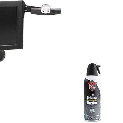 kitfaldpsxlmmmdh240mb – Valueキット – dust-off使い捨て圧縮ガスDuster ( FALDPSXL )と3 MスイングアームCopyholder ( mmmdh240mb ) B00MOPIX9E