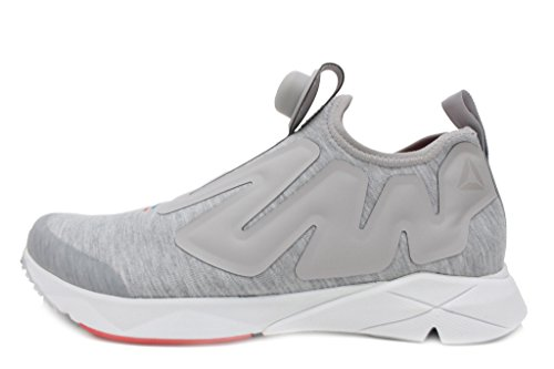 Reebok Pump Supreme Hoodie Sneaker, zinc/White/China red/awes, 8 M US