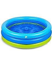 حوض سباحة دائري قابل للنفخ للاطفال من كيدلي، مناسب للحيوانات الاليفة والرضع والاطفال من الجنسين
