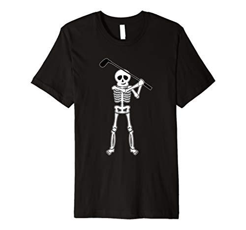 Halloween Golfer Skeleton Shirt | Funny Golfing Gift]()